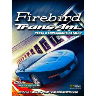 Classic Industries 1967-2002 Firebird katalog