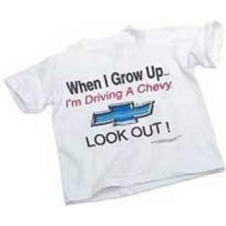 "T-Shirt ""Grow Up Chevy Kids (10-12år)"""